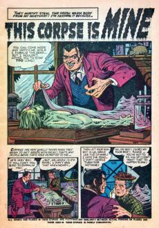 Extrait de Mystery Tales (Atlas - 1952) -2- The Weirdest Tales Even Told
