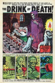 Extrait de Mystery Tales (Atlas - 1952) -4- Funeral of Horror!