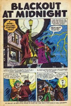Extrait de Mystery Tales (Atlas - 1952) -5- Blackout at Midnight!