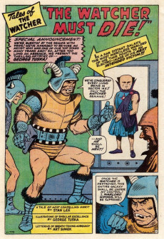 Extrait de Marvel's Greatest Comics (Marvel - 1969) -24- Death of a Hero!