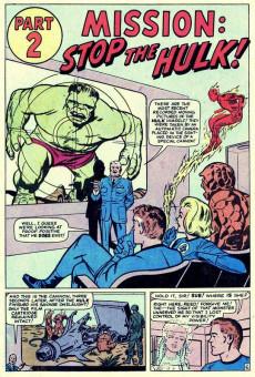 Extrait de Marvel's Greatest Comics (Marvel - 1969) -29- The F.F. Meet the Hulk! 'Nuff Said!