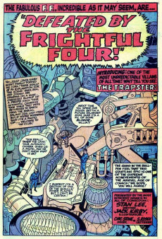 Extrait de Marvel's Greatest Comics (Marvel - 1969) -30- Behold a Distant Star!