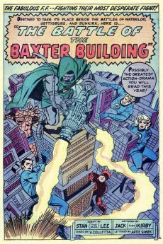 Extrait de Marvel's Greatest Comics (Marvel - 1969) -31- The Battle of the Baxter Building!