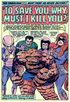 Extrait de Marvel's Greatest Comics (Marvel - 1969) -32- To Save You, Why Must I Kill You?