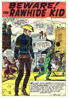 Extrait de Rawhide Kid Vol.1 (Atlas/Marvel - 1955) -17- Beware! The Rawhide Kid!!
