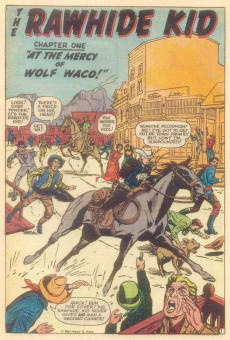 Extrait de Rawhide Kid Vol.1 (Atlas/Marvel - 1955) -18- Wolf Waco Strikes!