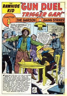Extrait de Rawhide Kid Vol.1 (Atlas/Marvel - 1955) -19- Gun Duel in Trigger Gap!