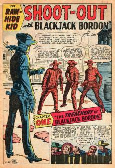 Extrait de Rawhide Kid Vol.1 (Atlas/Marvel - 1955) -20- Shoot-Out with Blackjack Bordon!