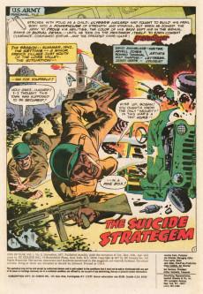 Extrait de Men of War Vol.1 (DC Comics - 1977) -3- Suicide Stratagem!