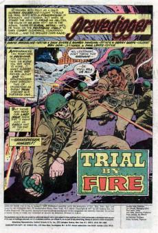 Extrait de Men of War Vol.1 (DC Comics - 1977) -4- Trial by Fire!