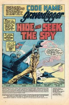 Extrait de Men of war Vol.1 (DC comics - 1977) -16- The Mark of the Gravedigger