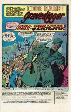 Extrait de Men of war Vol.1 (DC comics - 1977) -20- When the Walls Come Tumbling Down...