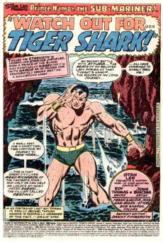 Extrait de Tales to Astonish Vol. 2 (Marvel - 1979) -5- Watch Out for... Tiger Shark!
