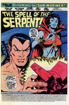 Extrait de Tales to astonish Vol. 2 (Marvel - 1979) -9- The Spell of the Serpent!