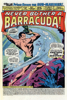 Extrait de Tales to Astonish Vol. 2 (Marvel - 1979) -10- Featuring: The Man Called Barracuda!