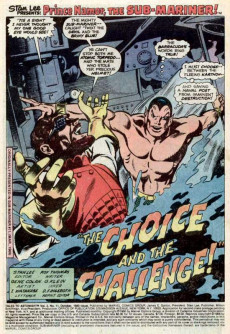 Extrait de Tales to astonish Vol. 2 (Marvel - 1979) -11- The Choice and the Challenge!