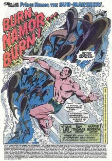 Extrait de Tales to astonish Vol. 2 (Marvel - 1979) -14- Namor Vs. The Human Torch!