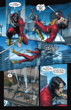 Extrait de The trials of Shazam (DC comics - 2006) -9- Apollo's Creed!