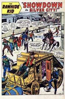 Extrait de Rawhide Kid Vol.1 (Atlas/Marvel - 1955) -24- Gunman's Gamble!
