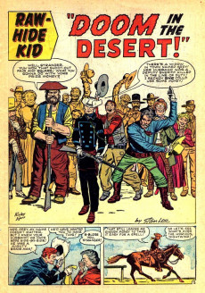 Extrait de Rawhide Kid Vol.1 (Atlas/Marvel - 1955) -28- The Guns of Jasper Jelko