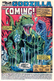 Extrait de Godzilla King of Monsters (Marvel - 1977) -1- (sans titre)