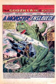 Extrait de Godzilla King of Monsters (Marvel - 1977) -6- A Monster Enslaved!