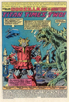 Extrait de Godzilla King of Monsters (Marvel - 1977) -8- Rage of the Red Ronin!