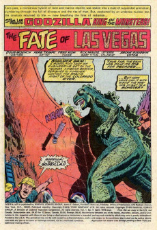 Extrait de Godzilla King of Monsters (Marvel - 1977) -9- Last Gamble in Las Vegas!