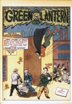 Extrait de Green Lantern Vol.1 (DC Comics - 1941) -4- The Green Lantern and Doiby Dickles Join the Army!