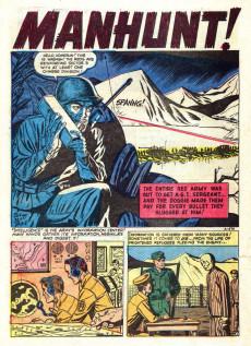 Extrait de War Action (Atlas - 1952) -4- Invasion in Korea!