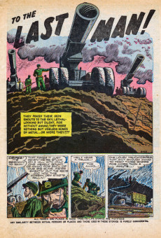 Extrait de War Action (Atlas - 1952) -9- To the Last Man!