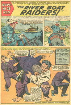 Extrait de Rawhide Kid Vol.1 (Atlas/Marvel - 1955) -47- The Riverboat Raiders!