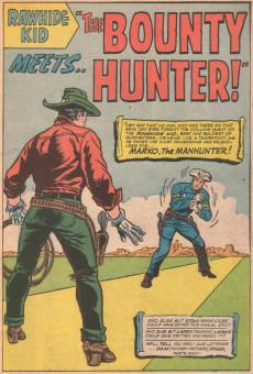 Extrait de Rawhide Kid Vol.1 (Atlas/Marvel - 1955) -48- Marko, the Manhunter!!