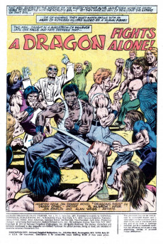 Extrait de Richard Dragon, Kung-Fu Fighter (DC Comics - 1975) -2- If You've Got to Die...Die Fighting!
