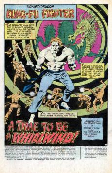 Extrait de Richard Dragon, Kung-Fu Fighter (DC Comics - 1975) -4- (sans titre)
