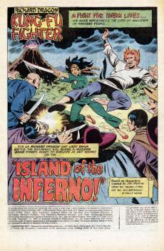 Extrait de Richard Dragon, Kung-Fu Fighter (DC Comics - 1975) -6- Certain Death!