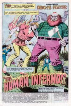Extrait de Richard Dragon, Kung-Fu Fighter (DC Comics - 1975) -10- The Human Inferno!