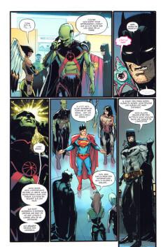 Extrait de Justice League : New Justice -4- La sixième dimension