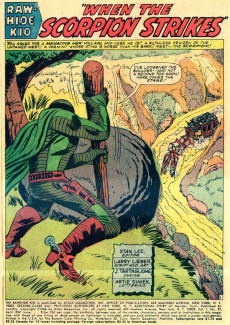 Extrait de Rawhide Kid Vol.1 (Atlas/Marvel - 1955) -57- When The Scorpion Strikes!