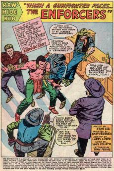 Extrait de Rawhide Kid Vol.1 (Atlas/Marvel - 1955) -58- When a Gunfighter Faces the Enforcers!