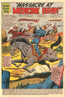 Extrait de Rawhide Kid Vol.1 (Atlas/Marvel - 1955) -60- Massacre at Medicine Bend!