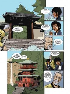 Extrait de Le ninja (R-Comics) - Le cœur de Mind