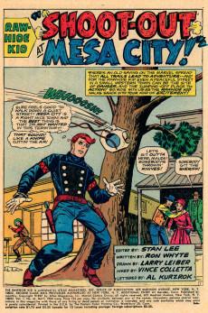 Extrait de Rawhide Kid Vol.1 (Atlas/Marvel - 1955) -63- Shoot-Out at Mesa City!