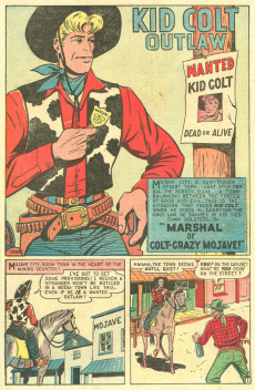 Extrait de Kid Colt Outlaw (Marvel - 1948) -1- Spawn of the Six-Gun Syndicate!