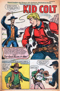 Extrait de Kid Colt Outlaw (Marvel - 1948) -3- Colt-Quick Killers for Hire!