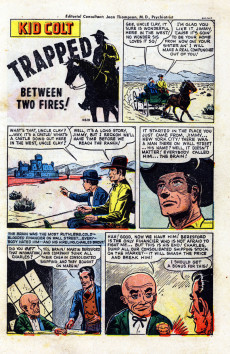 Extrait de Kid Colt Outlaw (Marvel - 1948) -7- Between Two Fires!