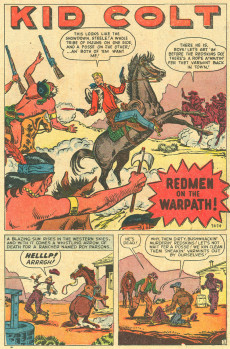 Extrait de Kid Colt Outlaw (Marvel - 1948) -10- Issue # 10
