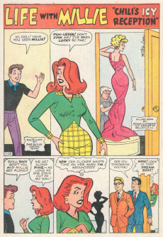 Extrait de Life with Millie (Marvel - 1960) -9- (sans titre)