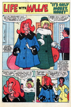 Extrait de Life with Millie (Marvel - 1960) -15- (sans titre)