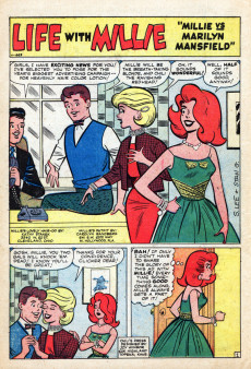 Extrait de Life with Millie (Marvel - 1960) -16- Millie Goes to the U.N.